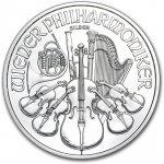 Wiener Philharmoniker Münze Österreich Stříbrná rakouská mince 1 Oz 2013