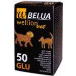 WellionVet BELUA Glukózové testovací proužky 50 ks