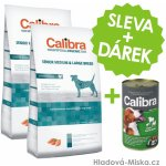 Calibra Dog HA Senior Medium & Large Chicken 2 x 14 kg
