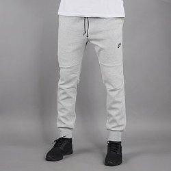Nike tech fleece pánské kalhoty teplákové šedé
