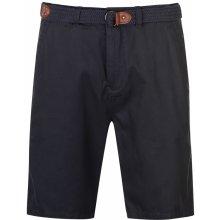 cbee51ec32ca Pierre Cardin Belt Chino shorts Mens Navy