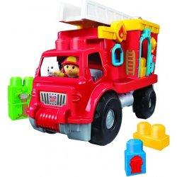 Mega Bloks Mega Hasičské auto s kostkami 11 ks