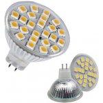 SMD Lighting LED žárovka MR16 4W bílá Teplá bílá