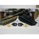 Alltoys RC Soubojové tanky Tiger VS Abrams 1:28