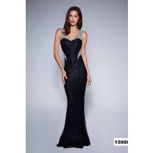 ba4d94852cf3 Soky Soka jednoduché večerní šaty černá