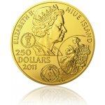 Česká mincovna Zlatá investiční mince 100dukát Jan Amos Komenský stand 348,5 g