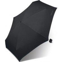 Černý deštník Esprit v pouzdru Esbrella 50401