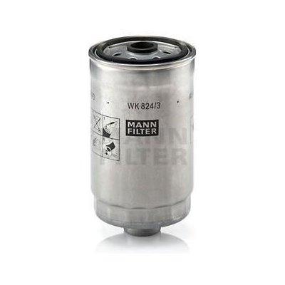 MANN-FILTER Palivový filtr MF WK824/3