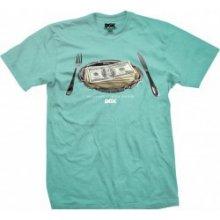 DGK MEAL TIME mint/modro-zelené tričko