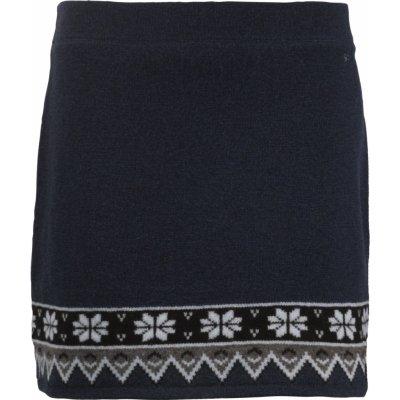 Zimní pletená sukně Scandianvian SKHOOP navy