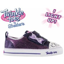 Skechers Twinkle Toes Itsy Bitsy Shoes Infant Girls Purple c708de741a
