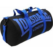 Lonsdale Barrel Bag Black Blue