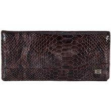 GIUDI dámská hnědá kožená peněženka 68987 MUL