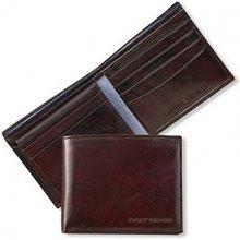 Tommy Hilfiger Pánská hnědá peněženka York Bifold 2427943ef8