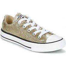 Converse Tenisky Dětské Chuck Taylor All Star Ox Seasonal Glitter Zlatá