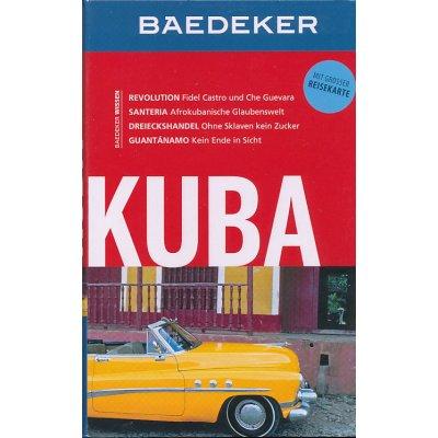 průvodce Kuba 8.edice německy Baedeker