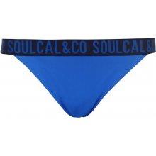 SoulCal Branded Bikini Briefs Ladies Navy