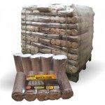 OKPALIVA dřevěné brikety HARD 960 kg