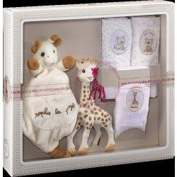 Vulli žirafa Sophie & mazlík & set 3 plen Heureka.cz
