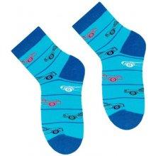 Steven Dětské ponožky s obrázky tyrkys 7e2de4d843