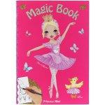 Omalovánka Magic Book My Style Princess Tmavě růžová