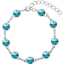 Troli náramek Rivoli Light Turquoise 53001.3 lt. turquoise