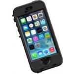 Pouzdro LifeProof nüüd odolné iPhone 5/5s/SE černé