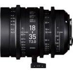 SIGMA CINE 18-35mm T/2 FL PL mount