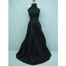 Černé večerní šaty na ples do opery na svatbu