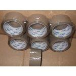 Lepící páska Ulith hnědá - 48mm x 66