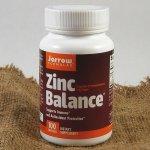 Jarrow Zinc Balance Zinek + Měď 100 kapslí