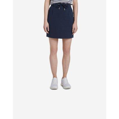Tom Tailor sukně Denim dámské modrá