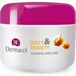 Dermacol Juicy Beauty Meruňka Jogurt Zvláčňující pleťový krém 50 ml