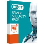 ESET Family Security Pack 3 lic. 1 rok krabice (870051)
