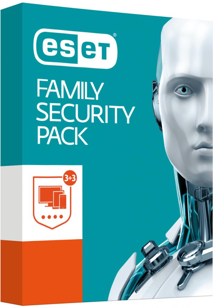 ESET Family Security Pack 3 lic. 1 rok krabice (870051) - 0
