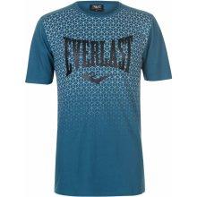 Everlast Geometric Print T Shirt Mens Teal Geo