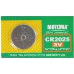Baterie MOTOMA CR2025 5ks