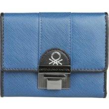 Benetton Peněženka 73440 002 ASPEN BLUE