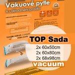 Home Collection vakuové pytle TOP sada 6ks (2ks 60x50 2ks 60x80 a 2ks 70x100)