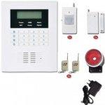 GSM bezdrátový i drátový zabezpečovací systém - alarm B0602GP