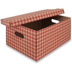 20983dd17 Emba Úložná krabice s nosností 50 kg 44 x 32 x 20 cm červená