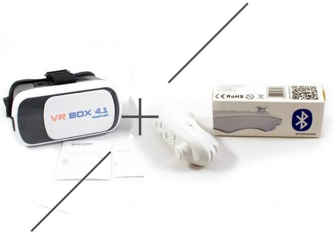 cd893fddb Recenze Ravencam VR BOX 4.1 - Heureka.cz