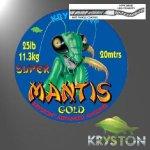 Kryston Mantis Gold 20m 25lb 11,35kg