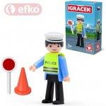 Efko IGRÁČEK Dopravní policista s doplňky