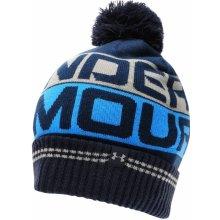 Výsledek obrázku pro Under Armour Pánská zimní čepice Retro Pom Beanie 2.0 modrá