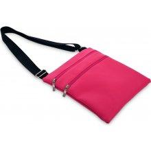 Dedra Crossbag Zipper kabelka přes rameno fuchsiová aee4d6d3ed