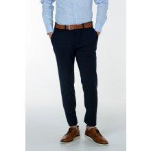 Gant Pánské Kalhoty GANT O1. WOOL FLANNEL CHINO modrá