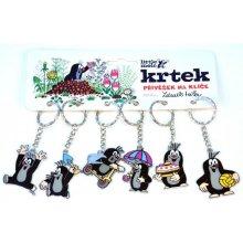 Přívěsek na klíče Kovový Krtek či batoh mix druhů 11100001