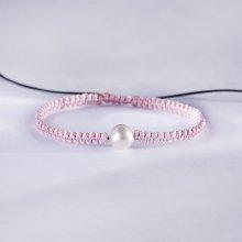 Klenota pletený náramek se sladkovodní perlou kln5180