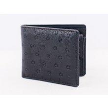 Independent multi Wallet Black Emboss
